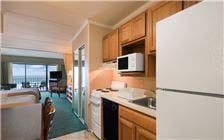Oceanfront Efficiency 2 Double Beds