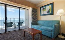 Premium Oceanfront Efficiency 2 Double Beds