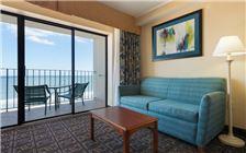 Premium Oceanfront Efficiency 2 Double Beds