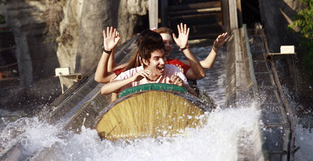 Jolly Roger Amusement Park - Maryland