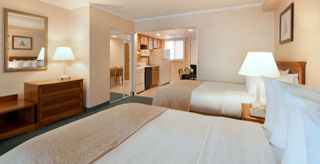 Northern View Efficiency Room Quality Inn Boardwalk, Maryland
