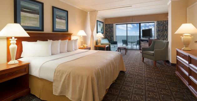 Premium Oceanfront Efficiency Room Quality Inn Boardwalk, Ocean City