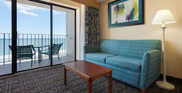 Quality Inn Boardwalk Oceanfront Efficiency Room - Ocean City