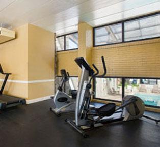 Fitness center at Quality Inn Boardwalk - Ocean City
