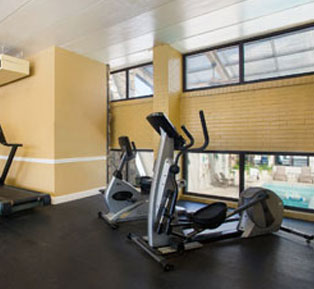 Fitness center at Quality Inn Boardwalk - Ocean City