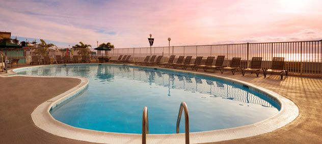 Two Oceanfront Pools at Maryland Hotel